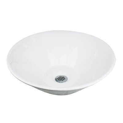 Brant Point Circular Vessel Bathroom Sink