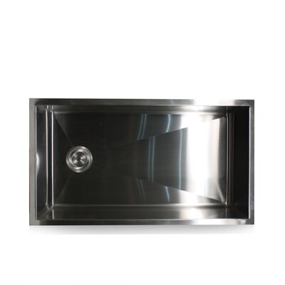 Pro Series 32 x 18 Zero Radius Stainless Steel Kitchen Sink