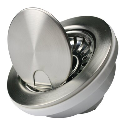 "Premium 4.5"" Flip Top Kitchen Sink Drain NS35LCC"