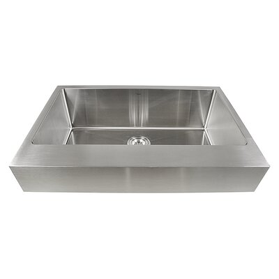 Pro Series 32.5 x 21.25 Single Bowl Farmhouse Kitchen Sink