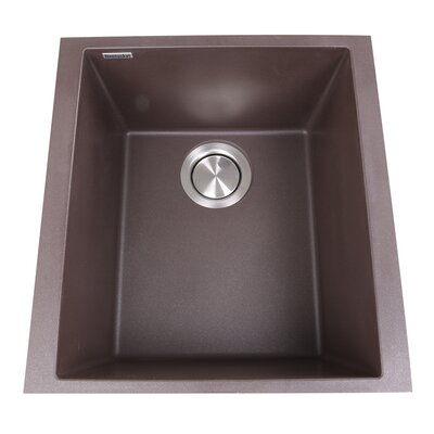 Plymouth 16.13 x 17 Bar Sink Finish: Brown