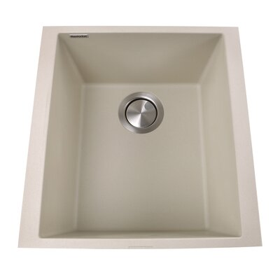 Plymouth 16.13 x 17 Bar Sink Finish: Sand