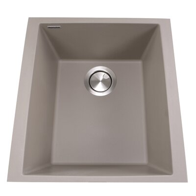 Plymouth 16.13 x 17 Bar Sink Finish: Truffle