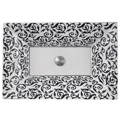 Regatta Ceramic Rectangular Vessel Bathroom Sink