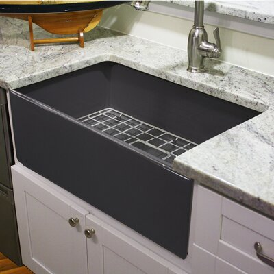 Cape 30.25 x 18 Fireclay Farmhouse Kitchen Sink