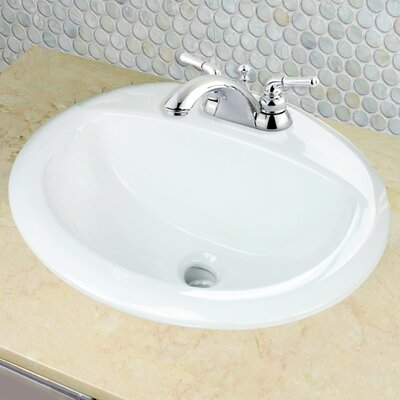Great Point Self Rimming Bathroom Sink