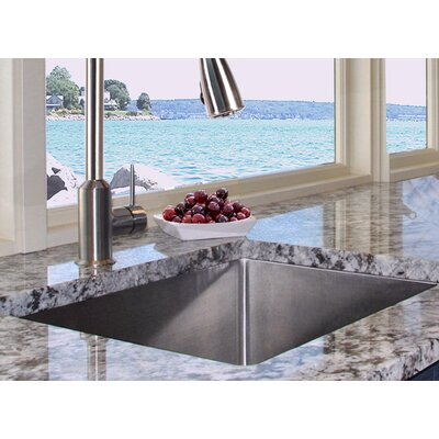 Pro Series 23 x 18 Small Radius Stainless Steel Kitchen Sink