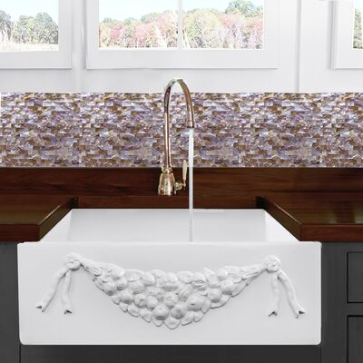 Cape 30.25 x 20 Farmhouse Kitchen Sink