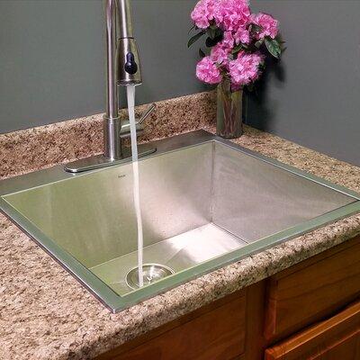 Pro Series 25 x 22 Dop-In Kitchen Sink