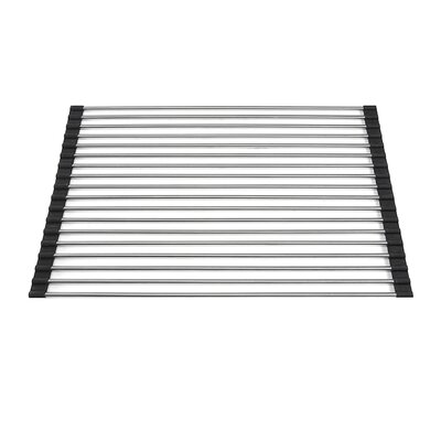 Premium Stainless Steel Roll Up Kitchen Mat