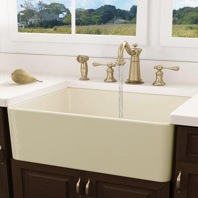 Cape 30.25 x 18 Undermount Kitchen Sink