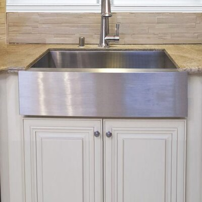 Pro Series 33 x 21 Farmhouse/Apron Kitchen Sink
