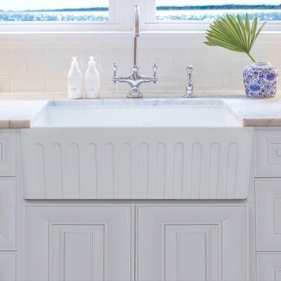 33 x 20 Farmhouse Kitchen Sink with Grid