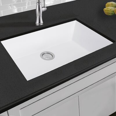 Plymouth 30 x 20 Drop In Kitchen Sink Finish: White