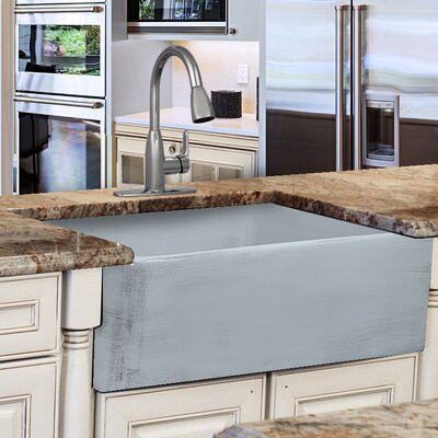 Vineyard Fireclay 29.75 x 19.75 Farmhouse Kitchen Sink Finish: Shabby Sugar