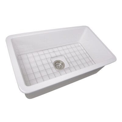 Dualmount Fireclay Cape 32 x 19 Kitchen Sink