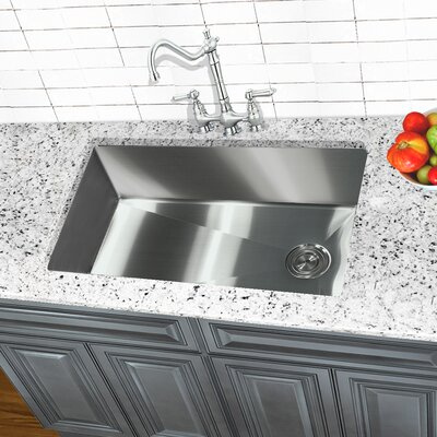 Pro Series 32 x 18 Undermount Kitchen Sink