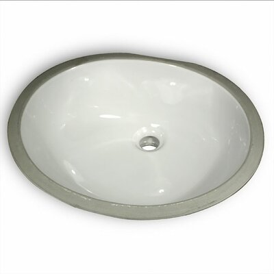 Great Point Oval Undermount Bathroom Sink