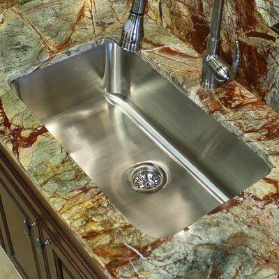 30 x 18 Elongated Single Bowl Undermount Kitchen Sink