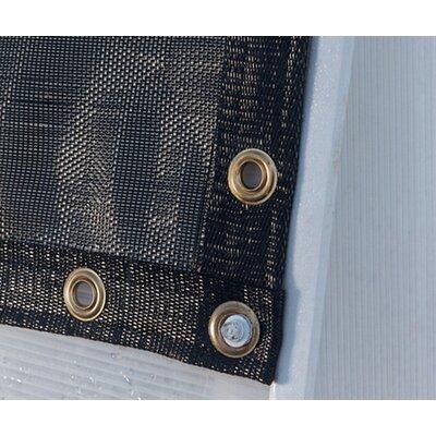 garden decor - Black Shade Cloth - Size: 8 ft Wide x 12 ft High - Solexx Greenhouse Accessories