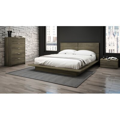 Decimus Queen Platform Customizable Bedroom Set