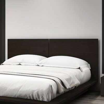 Decimus Queen Panel Headboard Color: Dark Espresso