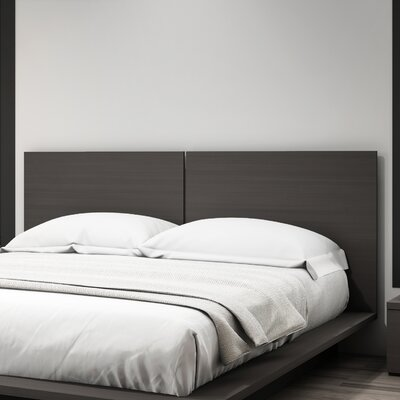 Decimus Queen Panel Headboard Finish: Charcoal Gray