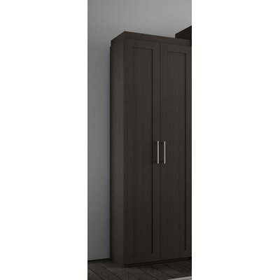 Shaker Armoire Finish: Charcoal Brown
