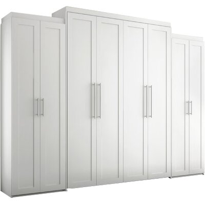 Shaker Armoire Finish: White