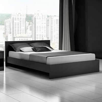 Stellar Home Euro Platform Bed - Finish: Black, Size: Full at Sears.com