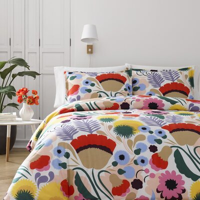 Ojakellukka Reversible Comforter Set Size: King
