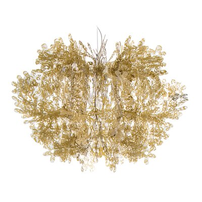 Fiorella Suspension Pendant Color: Gold