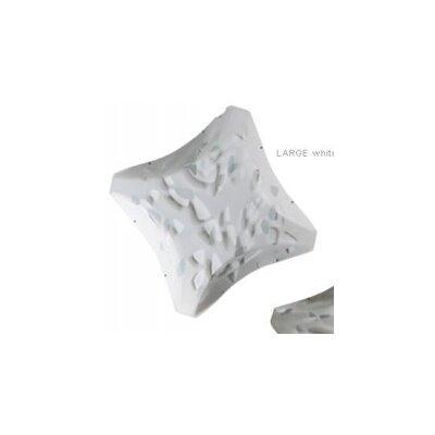 Plana 3-Light Flush Mount Size / Finish: 5.9 H x 28.35 W x 28.35 D  / Bios