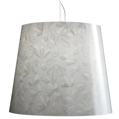Marie Fleur Suspension Pendant Color: White