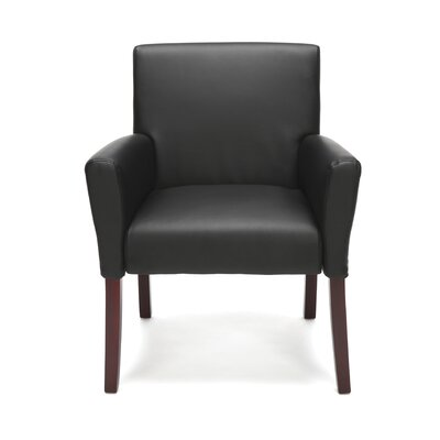 Ontiveros Arm Guest Chair Finish: Black