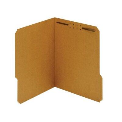 11 pt. Kraft Letter Size Fastener Folder (Set of 5)