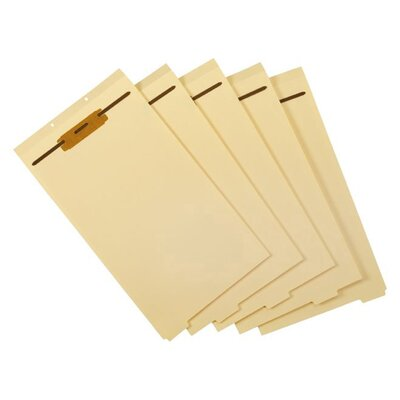 Manila Legal Size File Divider (Set of 12)