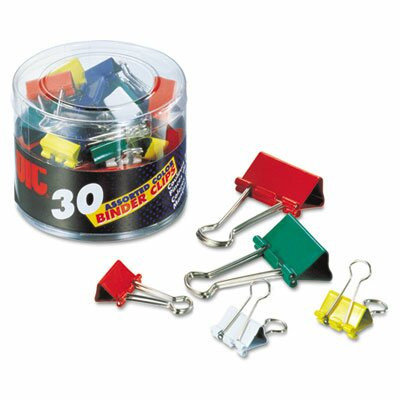 Binder Clips, 30/Pack (Set of 2)