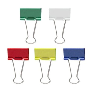 Medium Binder Clips, 24/Pack (Set of 2)