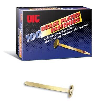 Roundhead Fastener, 1-1/2 Shank, Brass
