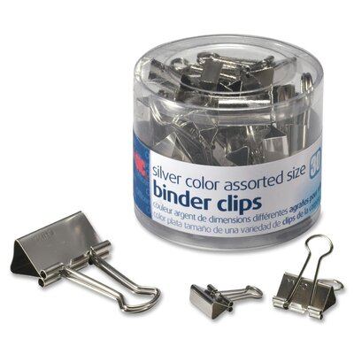 Binder Clip Finish: Silver