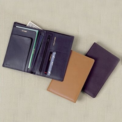 Winn International Cowhide Nappa Leather Deluxe Passport Case - Color: Cognac at Sears.com
