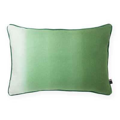 Ombre Decorative Cotton Lumbar Pillow Color: Verdant Green
