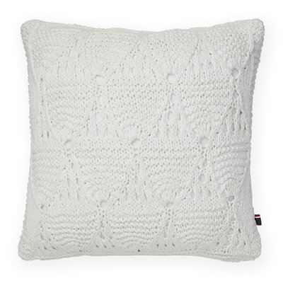 Bar Harbor Decorative Cotton Throw Pillow Color: Snow White