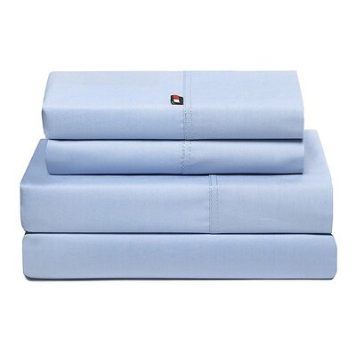 Signature 200 Thread Count Sheet Set Size: Queen, Color: Light Blue
