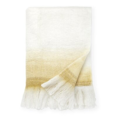 Brighton Ombre Throw Blanket Color: Dijon