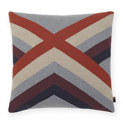 Geo Knit Decorative Throw Pillow