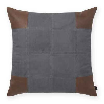 Pieced Decorative Throw Pillow Color: Gray