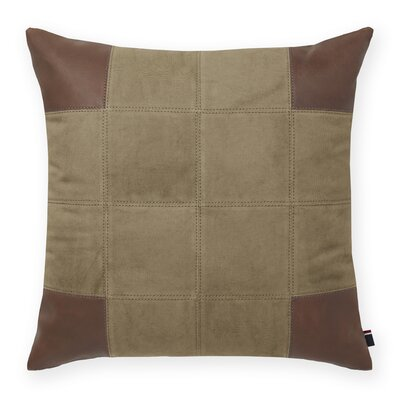 Pieced Decorative Throw Pillow Color: Olive