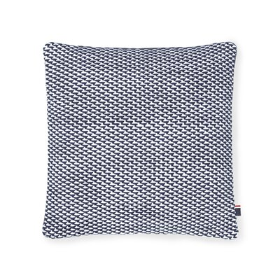 Basketweave Decorative Cotton Throw Pillow